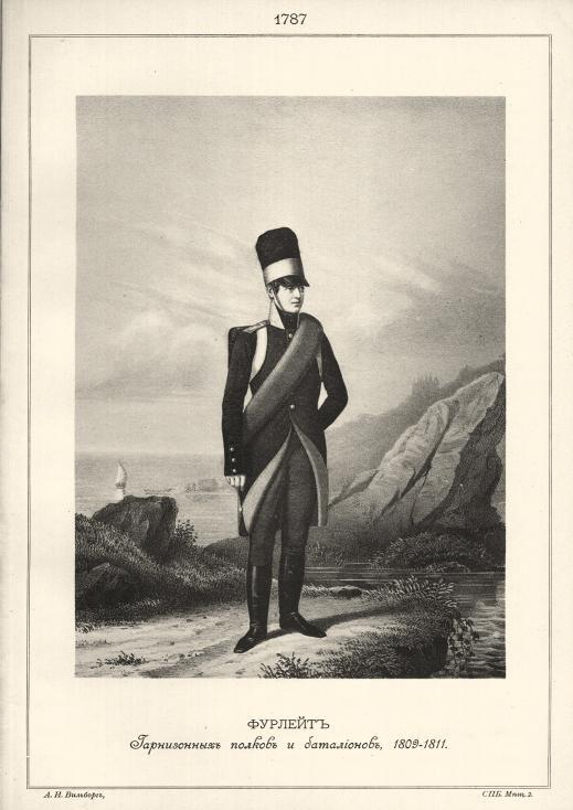 Наполеоновские Войны №58 Рядовой Псковского кирасирского полка, 1813 г.